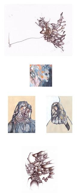 Milliande Demetriou Contemporary Art for Sale - Original Mixed Media Paintings