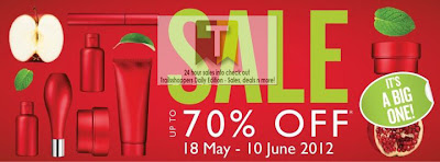 The Body shop Malaysia Sale