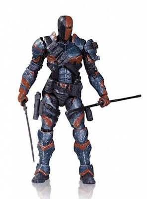 DC Colectibles Batman: Arkham Origins Deathstroke Figure