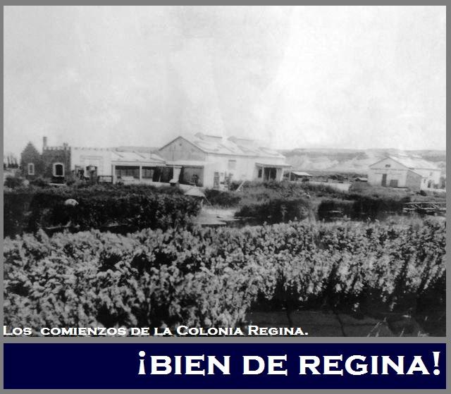 Los comienzos de la Colonia regina - 1.925.