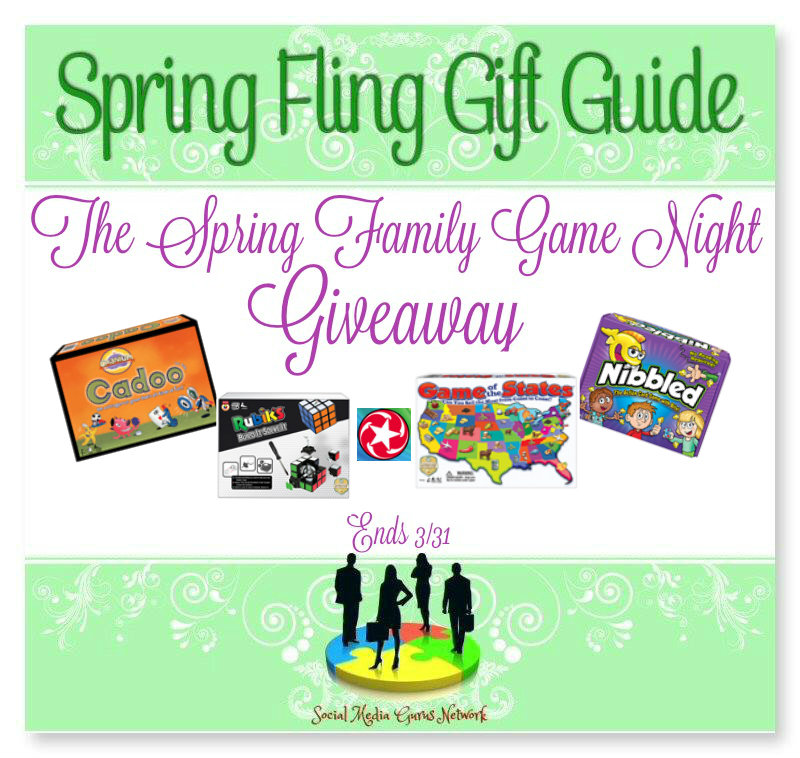 Spring Fling Family Game Night Giveaway