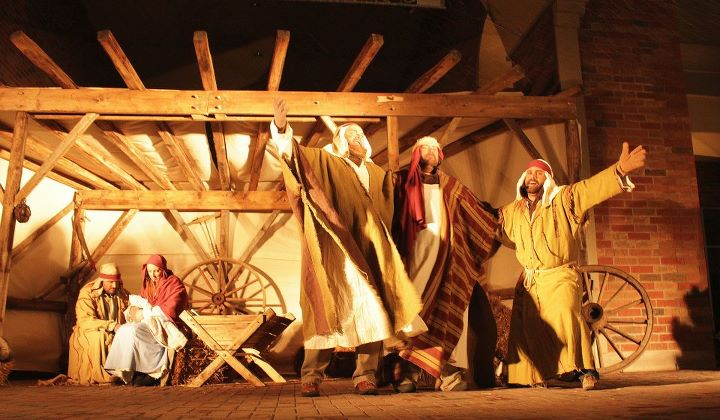 u0026quot behind the stable u0026quot     my living nativity story  and full