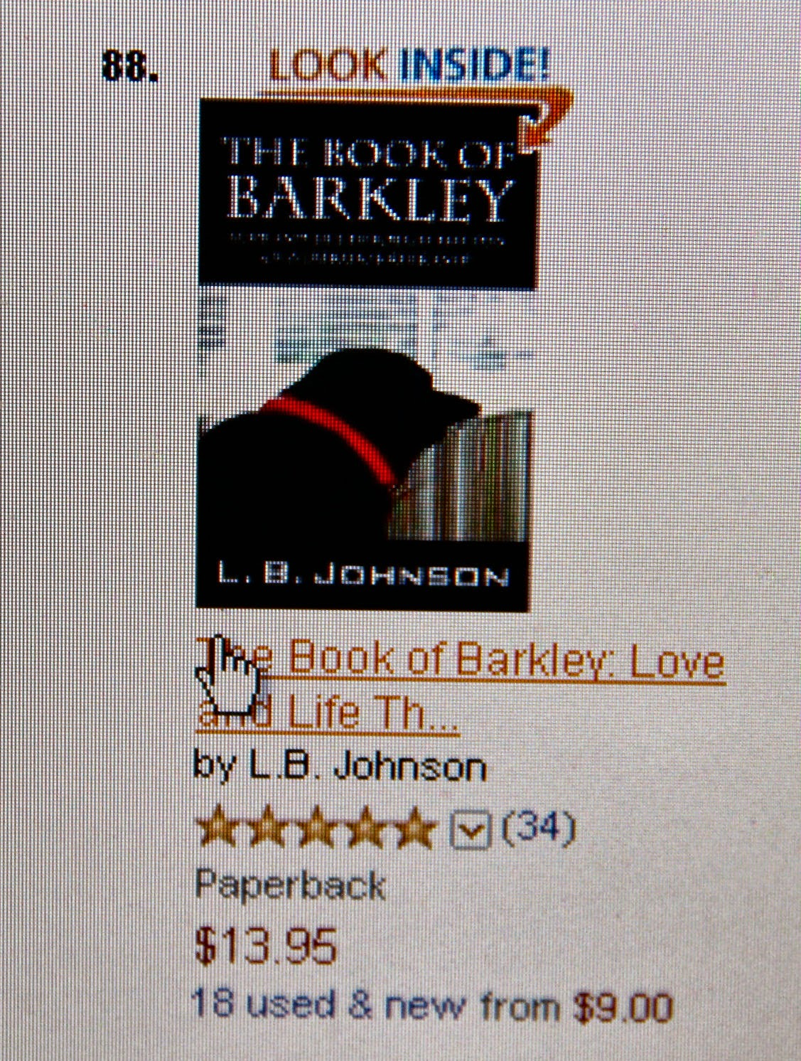 Barkley Made Amazon's Top 100
