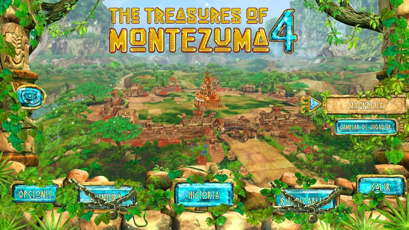 The Treasures of Montezuma 4 Deluxe Español (Full) Match-3 NOVEDAD