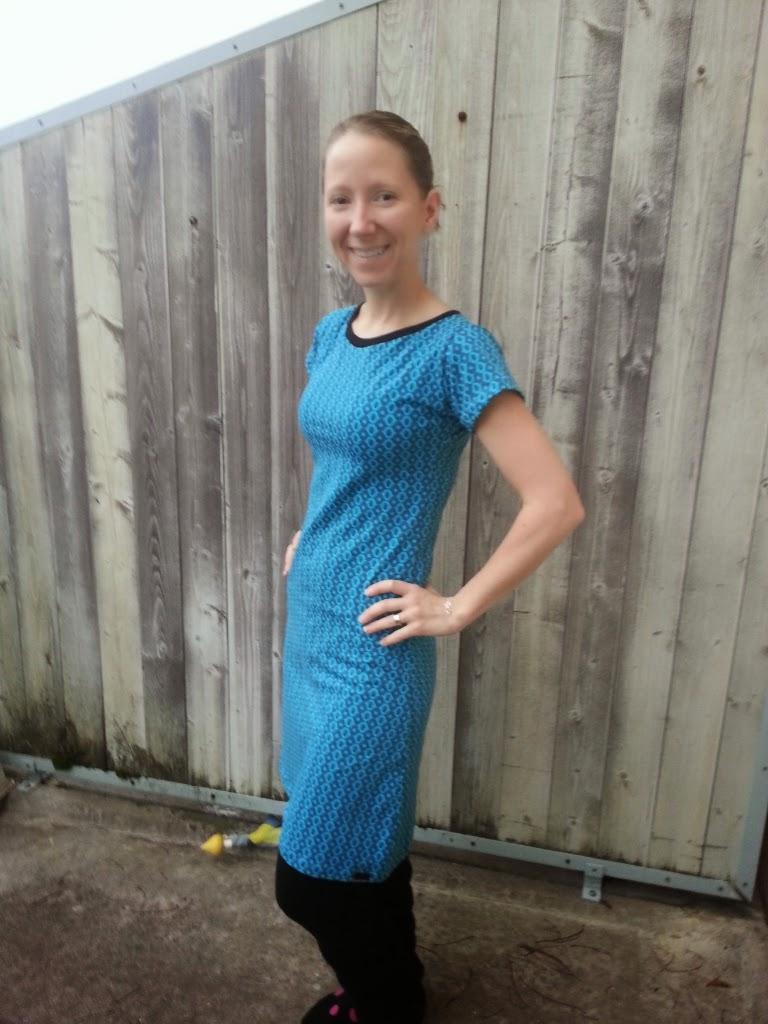 jersey klänning kläder sy damklänning