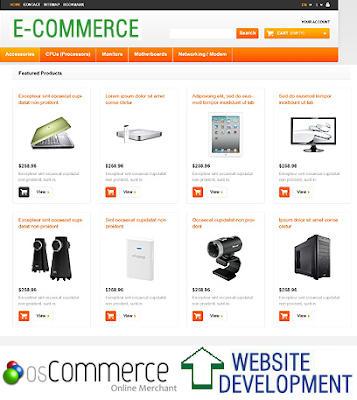 OsCommerce customization - Apeiront.com
