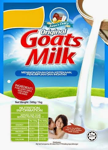Susu Kambing Asli