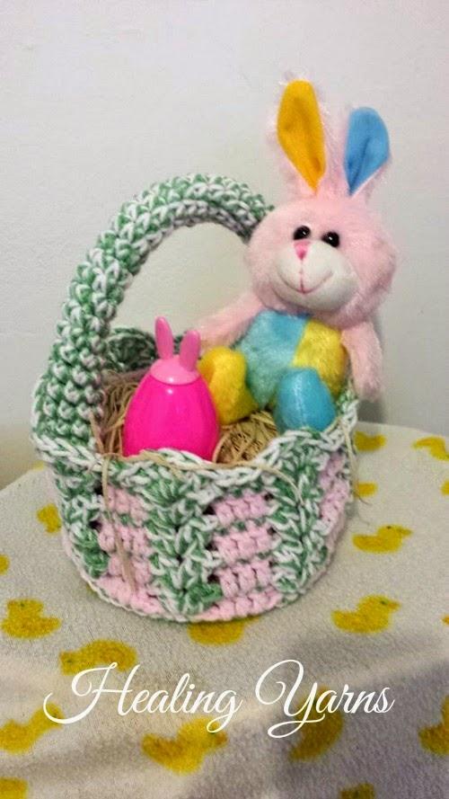 My Hobby Is Crochet: Crochet Baskets great for Easter ...