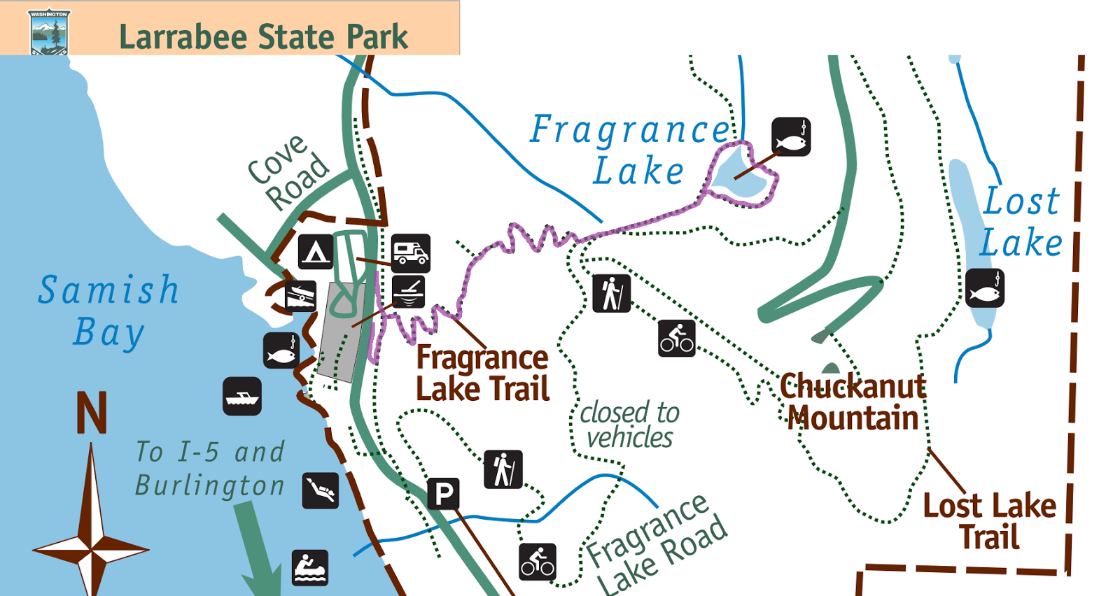 fragrance lake larrabee state park