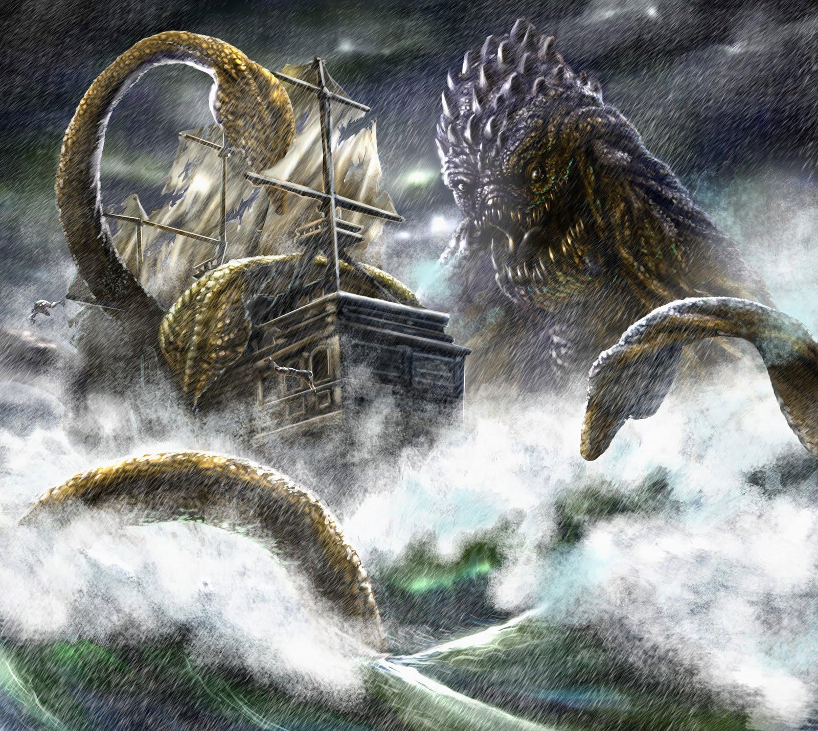 poseidon vs the kraken - photo #32