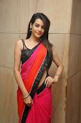Deeksha panth sizzling saree stills-thumbnail-9