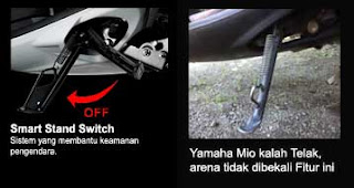 Smart Stand Switch new Xeon RC vs Mio Sporty