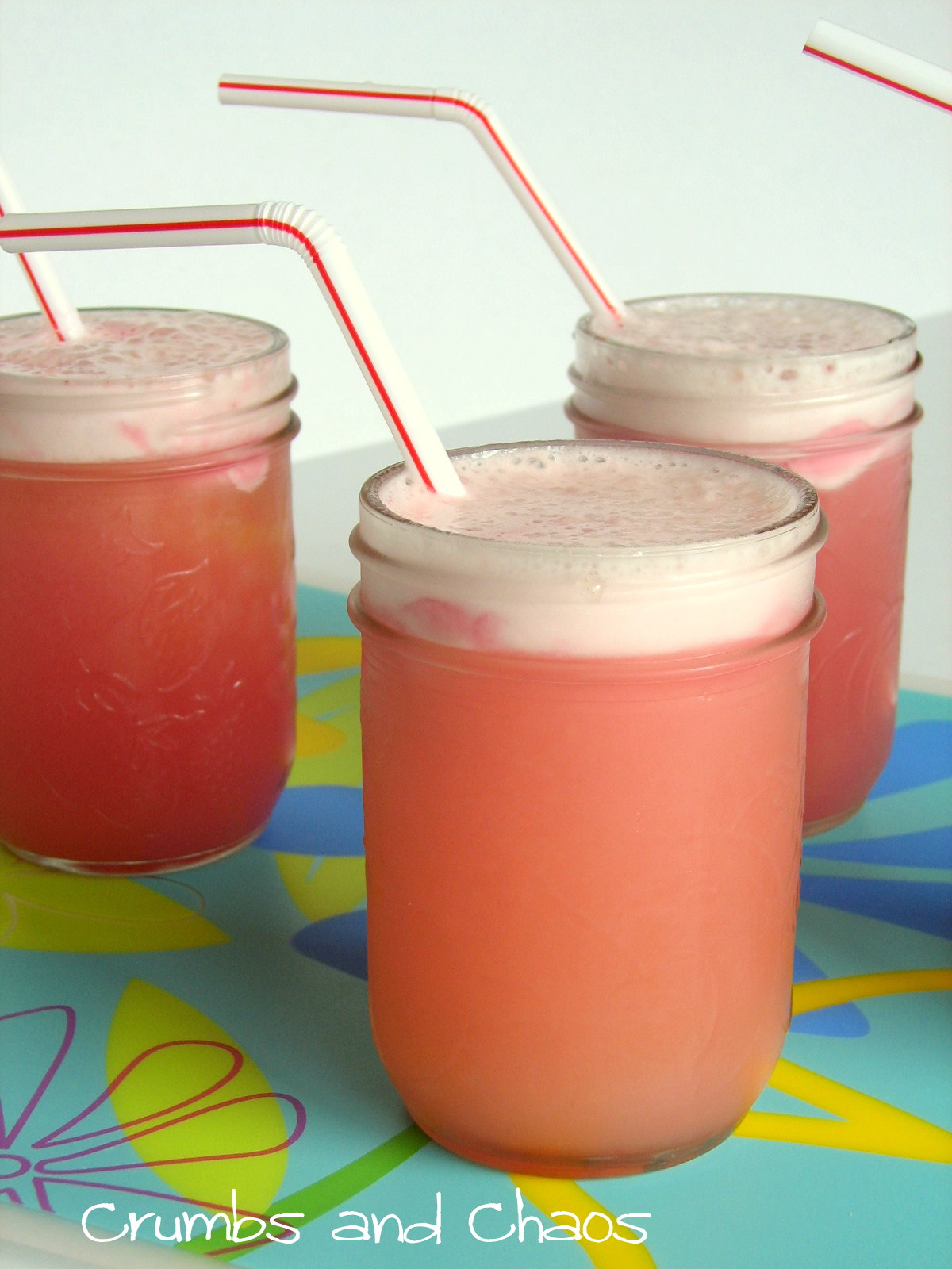 Refreshing Sherbet Floats Crumbs and Chaos