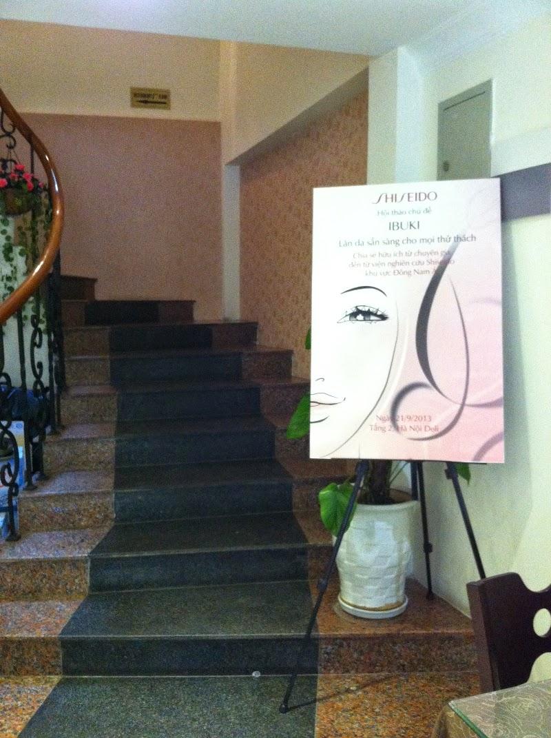 Hội thảo Shiseido tổ chức tại nhà hàng Hanoi Deli