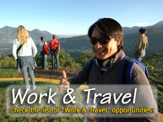 work and travel abroad, job abroad, work overseas