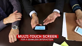 "4"" IPS screen with wide viewing perfect for sharing. Enjoy seamless interaction with a multi-touch screen,"