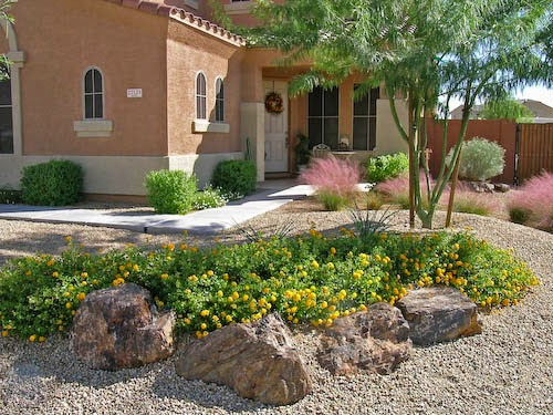 Garden house design ideas for Landscaping ideas and designs
