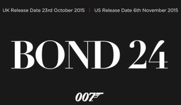 Film Bond 24 2015 (James Bond 24)
