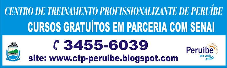 """CTP - PERUÍBE """"Cursos gratuitos em parceria com Senai"""""""