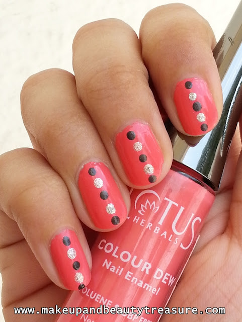 Classic Polka Dots Nail Art