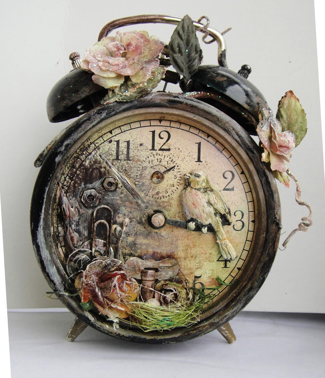 Декор старых часов своими руками мастер класс