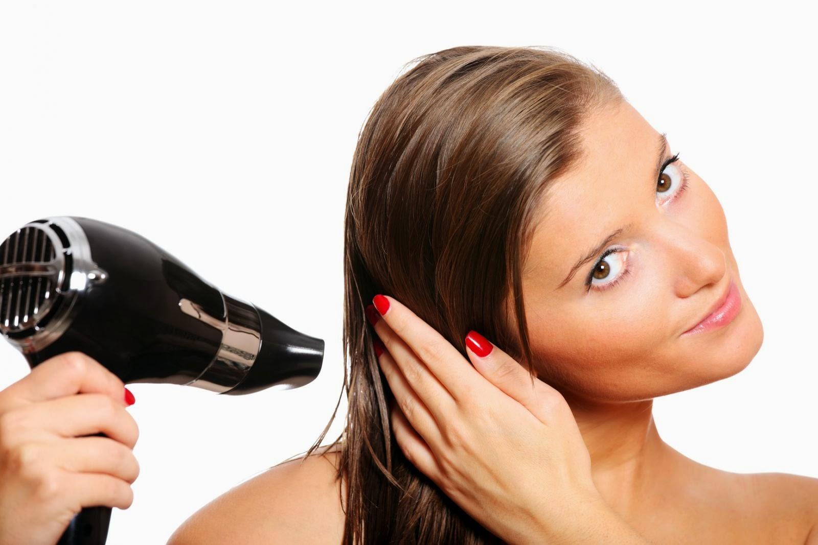 Как правильно высушить волосы феном чтобы корни были объемными