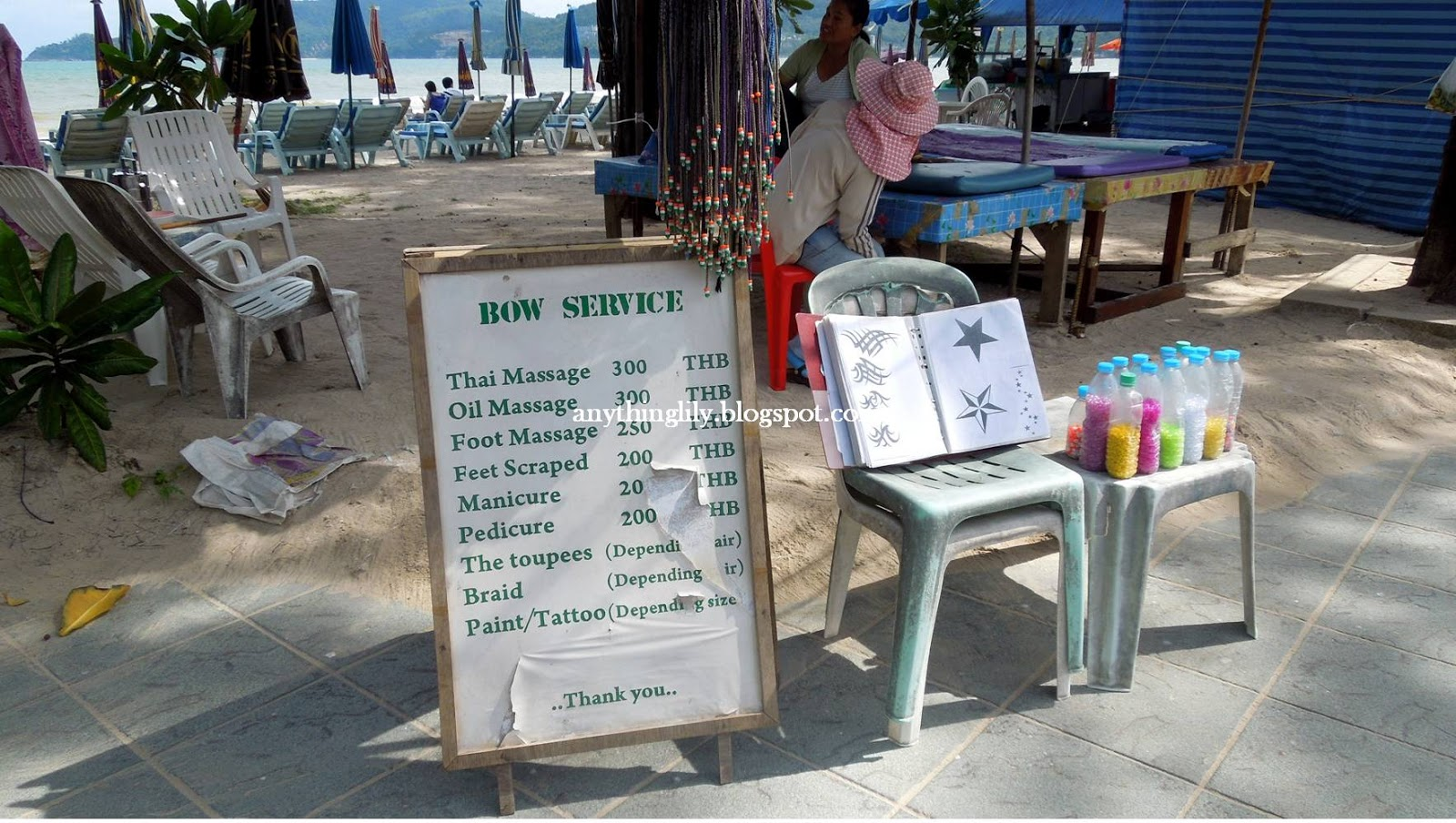 Massage parlours in patong beach offering among others thai massage
