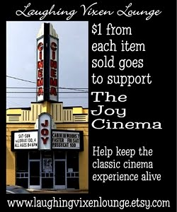 $1 From Each Item Sold To Help Support The Joy Cinema
