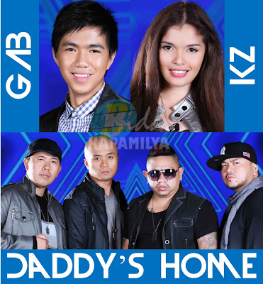 Gabriel Maturan, KZ Tandingan and Daddy's Home Compete to be the very first grand winner of The X Factor Philippines on October 6 and 7