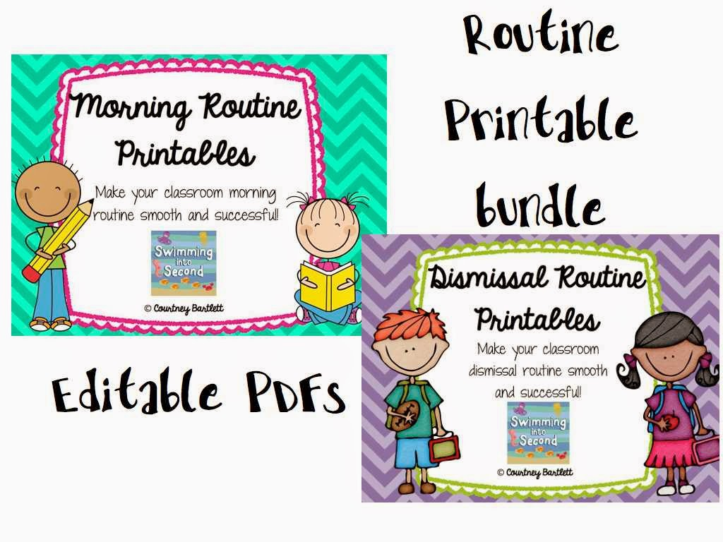 http://www.teacherspayteachers.com/Product/Morning-and-Dismissal-Routines-Printable-Bundle-1234502