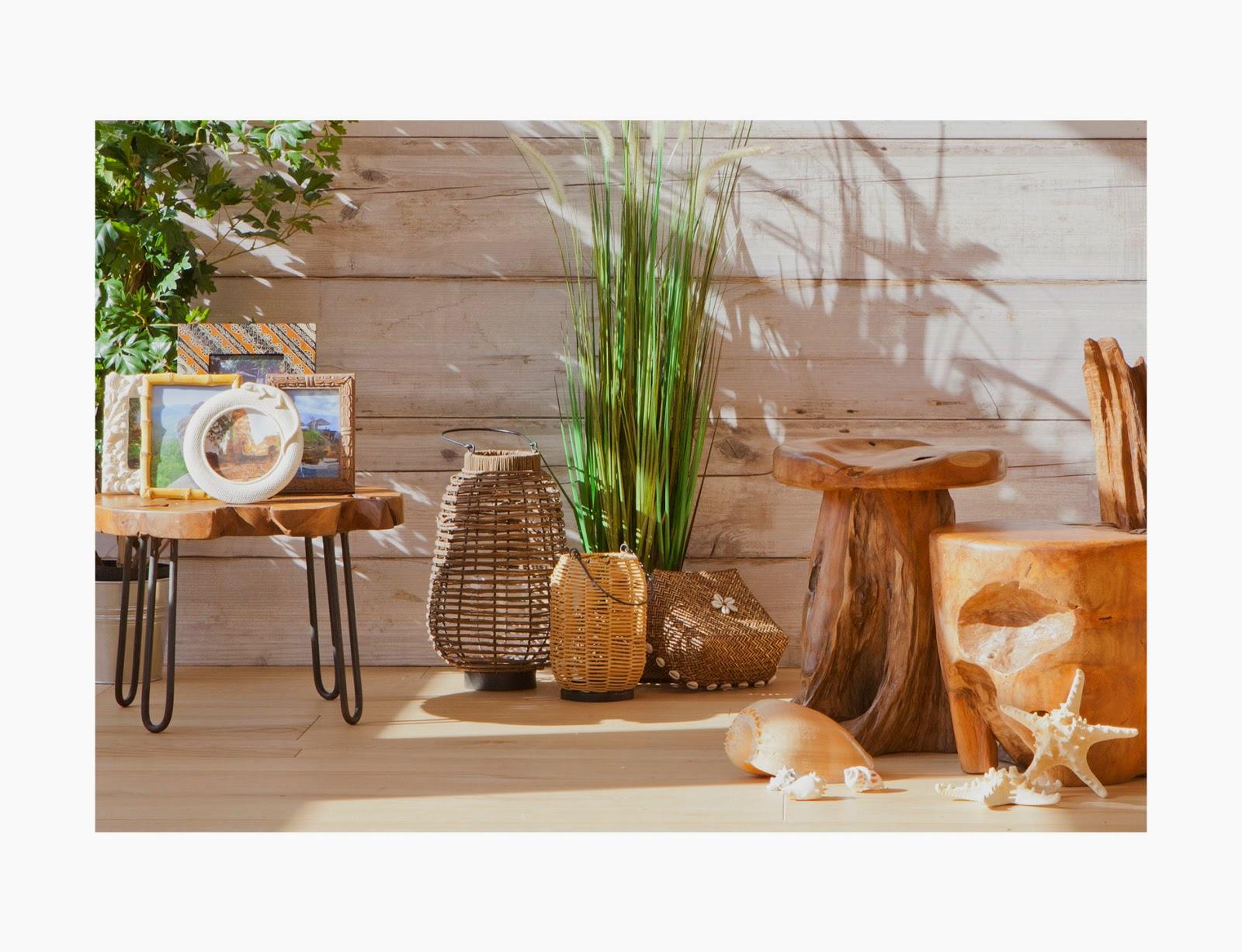 ZARAHOME: mimbre, y madera para una decoración natural y ligera