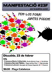 Social: #23F Manifestació