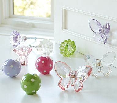 Create it!: Pottery Barn butterfly knob knock off