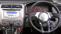 Car Accessories: Steering wheel, Knob (clutch sticks)
