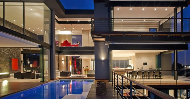 World of architecture week 2 winner lam house south africa for Pool design johannesburg