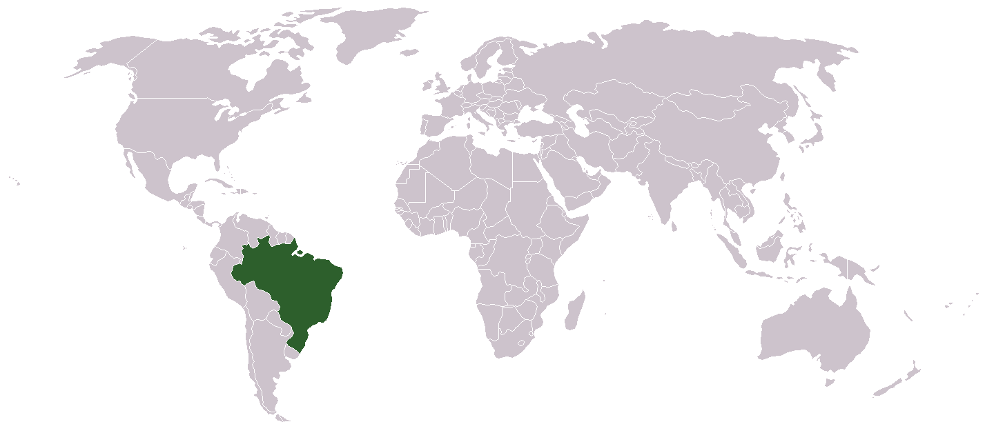 Where Is Brazil Located On The Map - Where is brazil located
