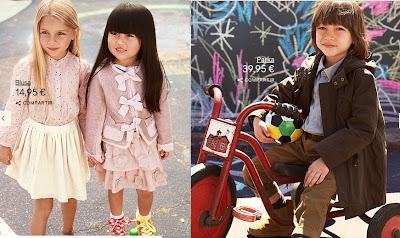 COLECCION INFANTIL H&M ALL FOR CHILDREN ALIANZA H&M UNICEF