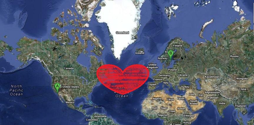 love across distance