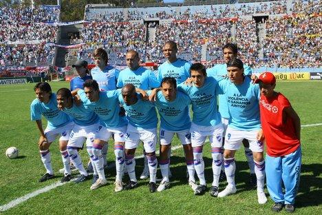 Nacional y Real Madrid Juntos Nacional 2008 Con el Slogan