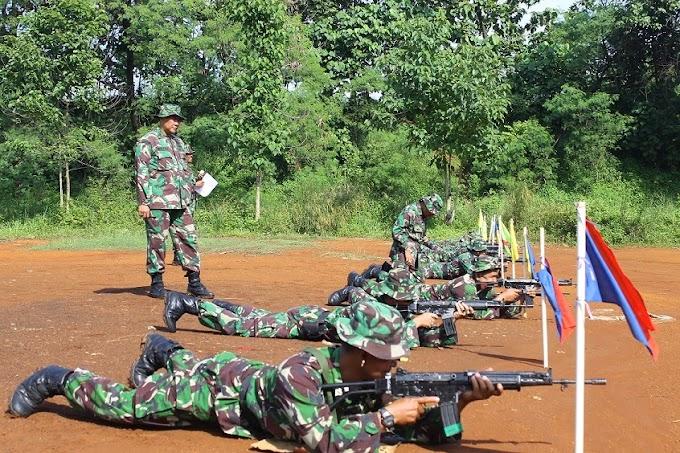 Kodim 0508/Depok Gelar Latihan Menembak Triwulan I