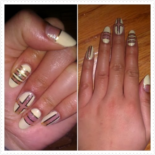 Tape Nail Art Designs: Nail Art Striping Tape Ideas