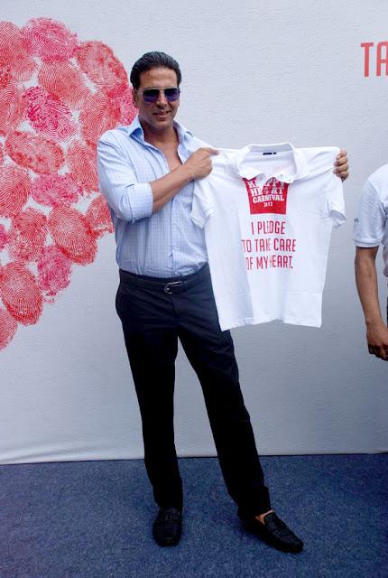 Akshay @ 'Happy Heart Carnival 2012'