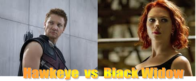 Who's Your Nanny: Hawkeye versus Black Widow