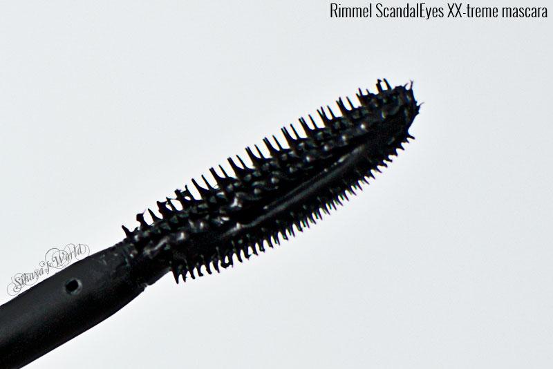 rimmel scandaleyes xx-treme mascara aplicator