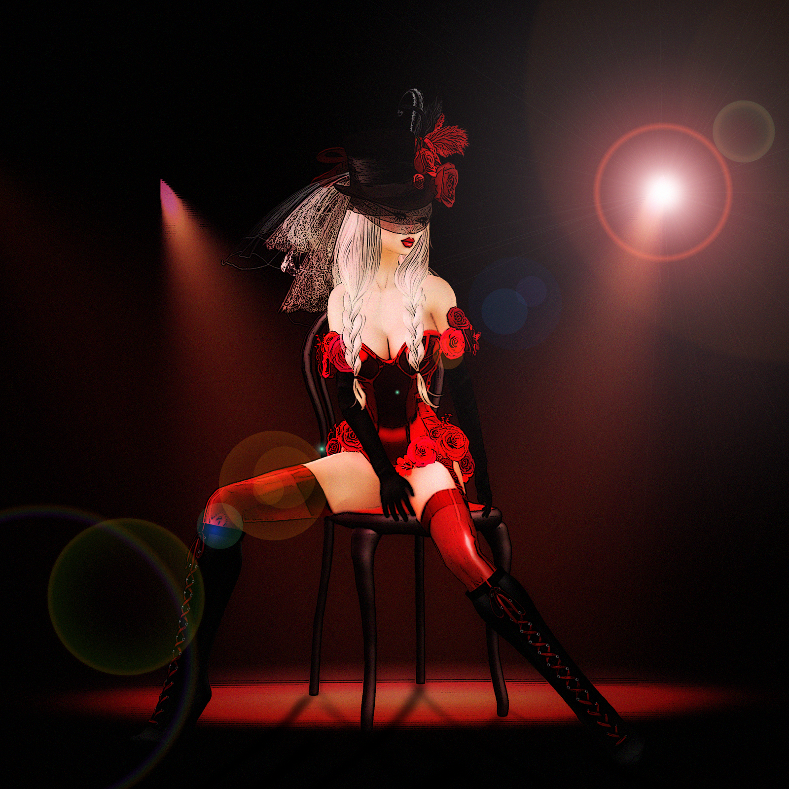 Simply Bea: Welcome to burlesque ~ now the show is over...