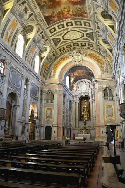 Baixa Chiado Church Lisbon