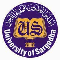 Sargodha University MSc Result 2016, Part 1, Part 2