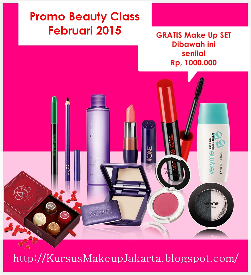 Kursus Make Up Beauty Class Jakarta