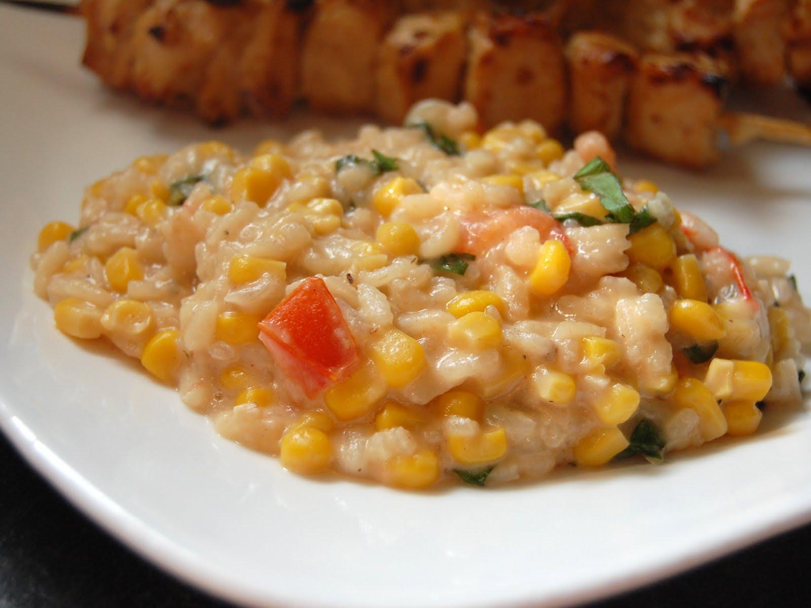 Cassie Craves: Corn and Tomato Risotto