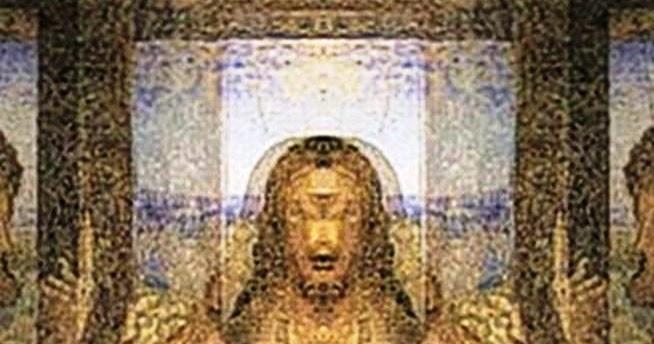 """Hidden Image Exposed in Da Vinci's """"The Last Supper ... Da Vinci Paintings Hidden Messages"""